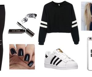 adidas, black, and goals image