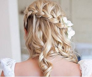 blond, blonde, and braid image