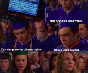 gossip girl, blair, and nate image