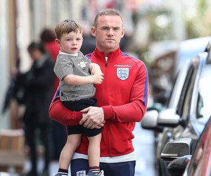 father, france, and wayne rooney image