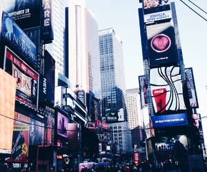 broadway, new york, and nyc image