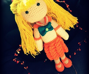 crochet, sailor venus, and sailor moon image