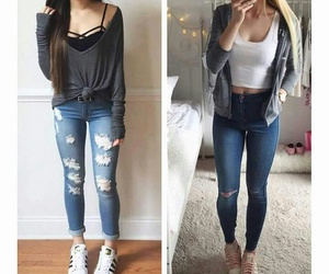 outfit, goals, and cute image