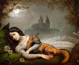 art, sleeping, and christian schloe image
