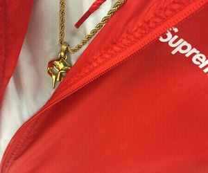 red, style, and supreme image