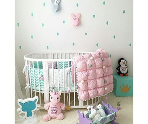 baby, bed, and decorate image