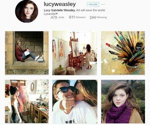 harry potter, lucy weasley, and tercera generación image