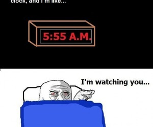 funny, alarm, and humor image