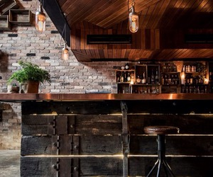 bar, interior, and design image