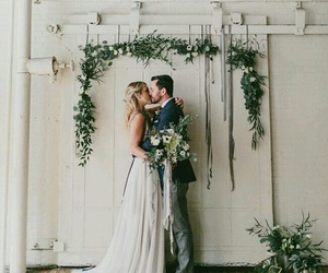 couple and wedding image