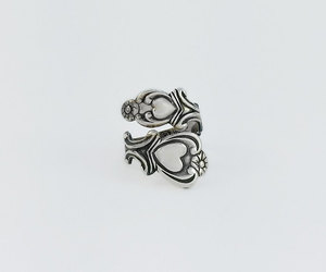 etsy, scrolls, and heart ring image