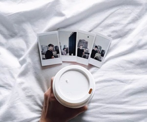 coffee, white, and aesthetic image