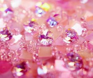 pink, diamond, and glitter image