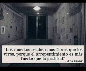 frases, ana frank, and flores image