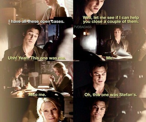 actor, the vampire diaries, and funny image