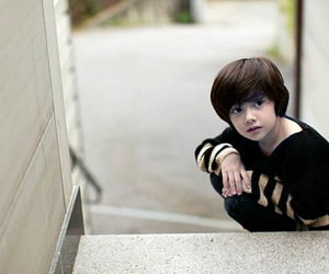 stairs, mixed blood, and kid ulzzang image
