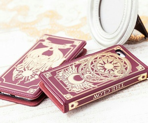 card, case, and gold image