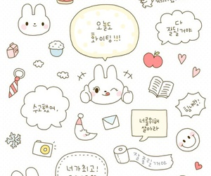 wallpaper, cute, and pattern image