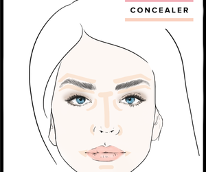 makeup, beauty, and tips image