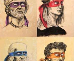 donatello, Leonardo, and funny image