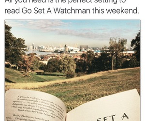 book, Harper Lee, and go set a watchman image