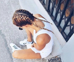 adidas, beauty, and outfit image