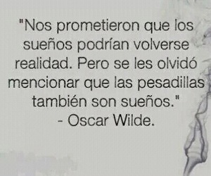 Dream, frases, and oscar wilde image