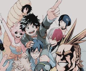 anime, my hero academia, and manga image