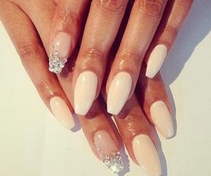 elegance, nails, and sparkle image