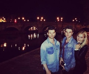 claire holt, daniel gillies, and The Originals image