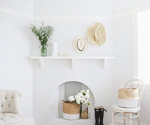 design, house, and fireplace image