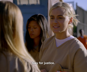 oitnb, orange is the new black, and piper chapman image