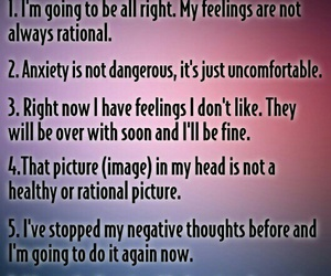 anxiety, coping, and recovery image