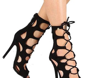 gladiator heels, heels, and shoes image