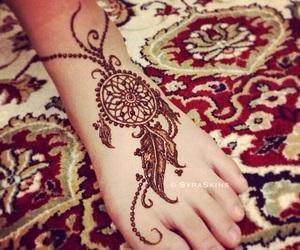 henna, Dream, and feet image