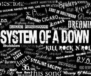 black, wallpapers, and soad image