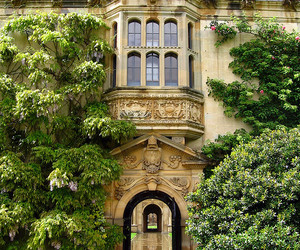 house, england, and oxford image