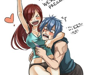 fairy tail, erza, and jerza image