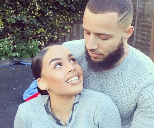 couple, terroll lewis, and girlfriend image