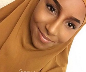 brown, hijab, and islam image