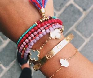 bracelet, bracelets, and jewelery image