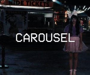carousel, melanie martinez, and music image