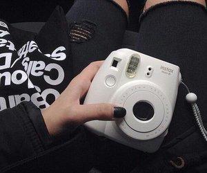 black, grunge, and camera image