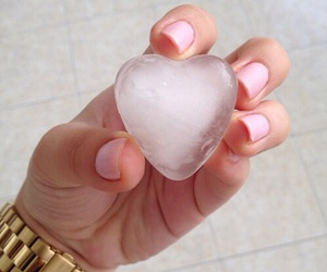heart and ice image