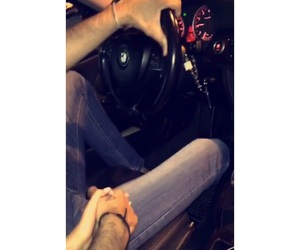 bmw, hands, and couple image