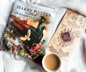 harry potter, jk rowling, and philosopher's stone image