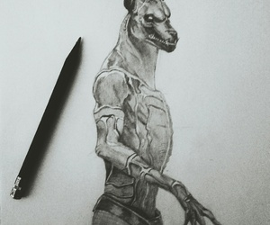 anubis, draw, and drawing image
