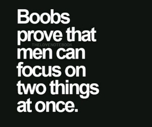boobs and funny quotes image