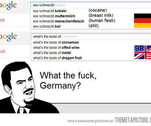 funny, germany, and google image