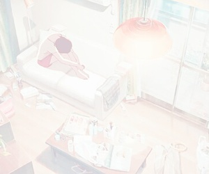 aesthetic, anime, and of image